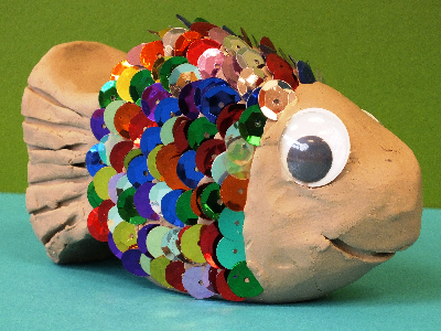 Mommy's Time Off - Rainbow Fish (4-9 years)